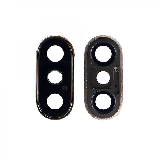 Apple İphone X Kamera Camı Siyah (Tek Cam)