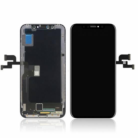 Apple İphone X Lcd Ekran Revizyon Orijinal Siyah