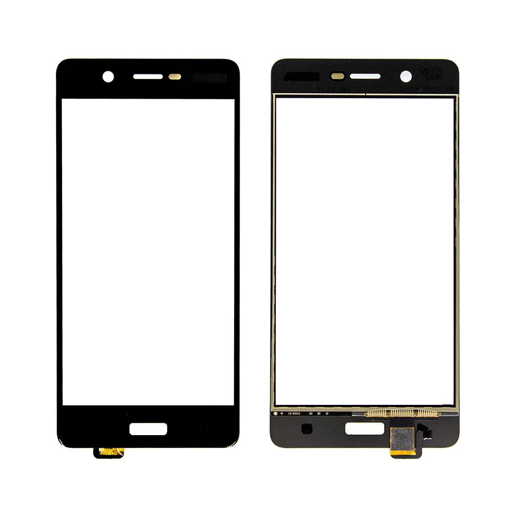 Nokia 5 Touch Dokunmatik Oca Siyah