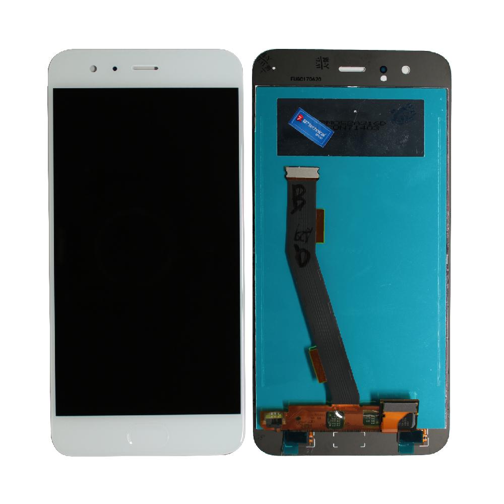 Xiaomi Mi 6 Lcd Ekran Çıtasız Beyaz