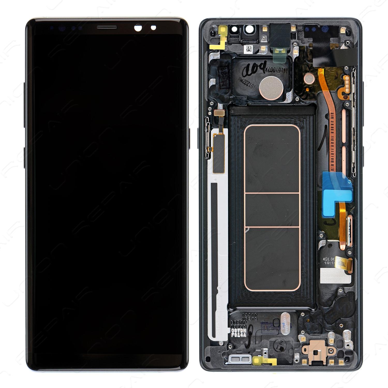 mobilparcasi Siyah com N950 Www 8 Lcd Samsung ekran Note Servis