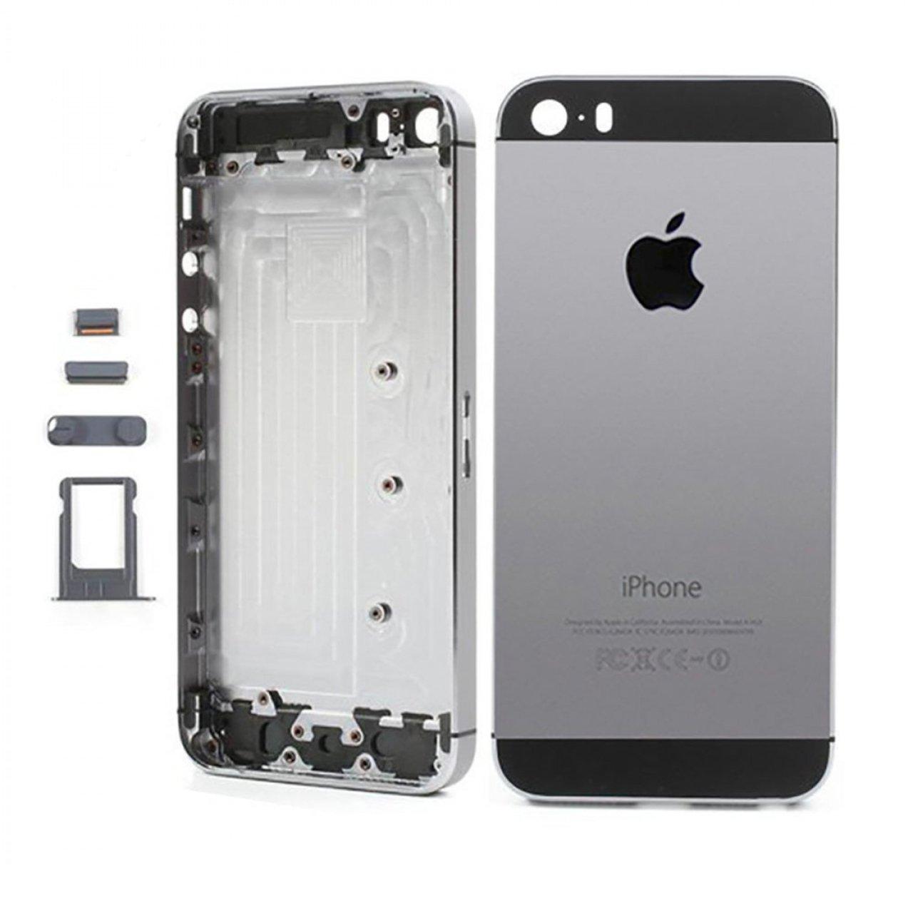 Apple Iphone 5s Kasa Boş Siyah Mobilparcasi