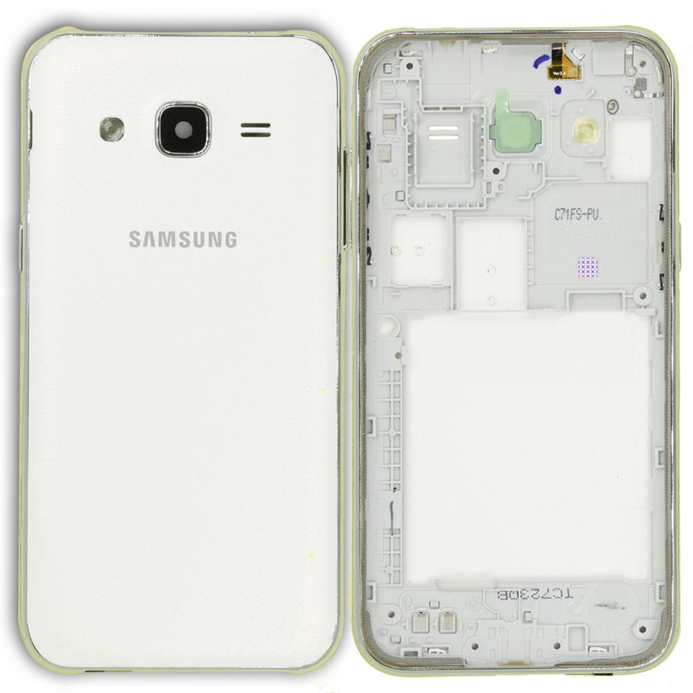 Samsung J200 J2 Kasa Beyaz