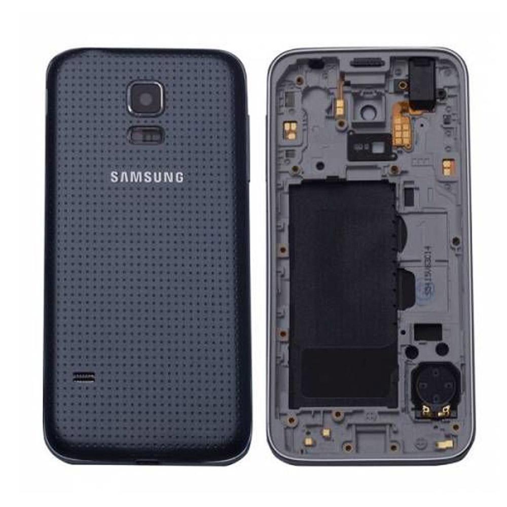 Samsung G800 S5 Mini Kasa 2 Sim Siyah