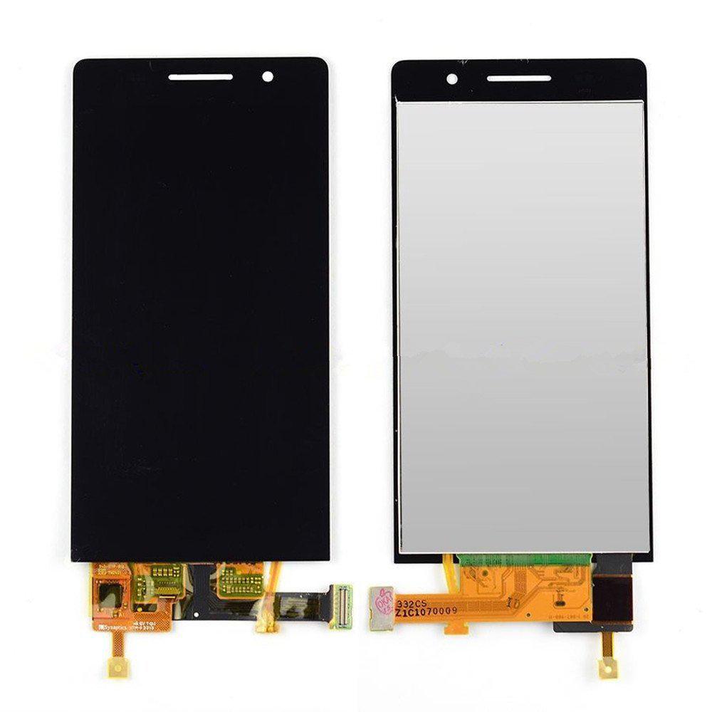 Huawei P6 Lcd Ekran Çıtalı Siyah