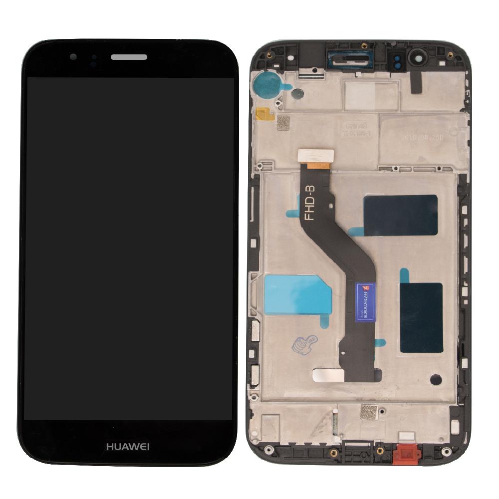 Huawei G8 Lcd Ekran Çıtalı Siyah
