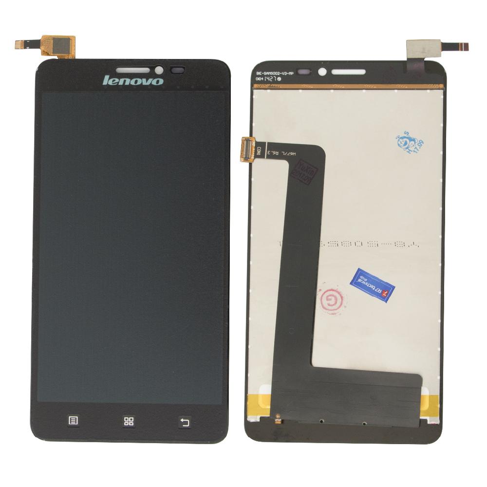 Lenovo S850 Lcd Ekran Çıtasız Siyah