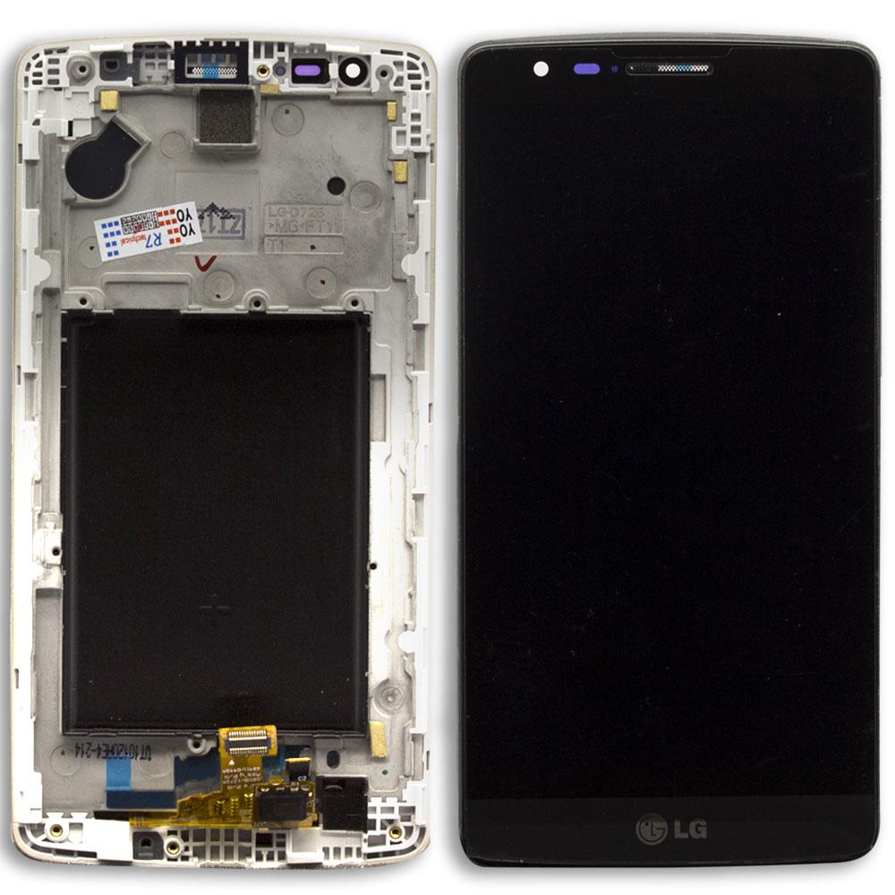 Lg D723 G3 Mini Lcd Ekran Çıtalı Siyah