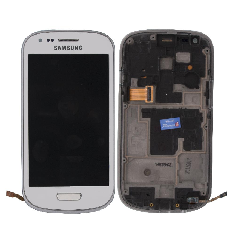 Samsung I8190 S3 Mini Lcd Ekran Revizyon Orijinal Beyaz