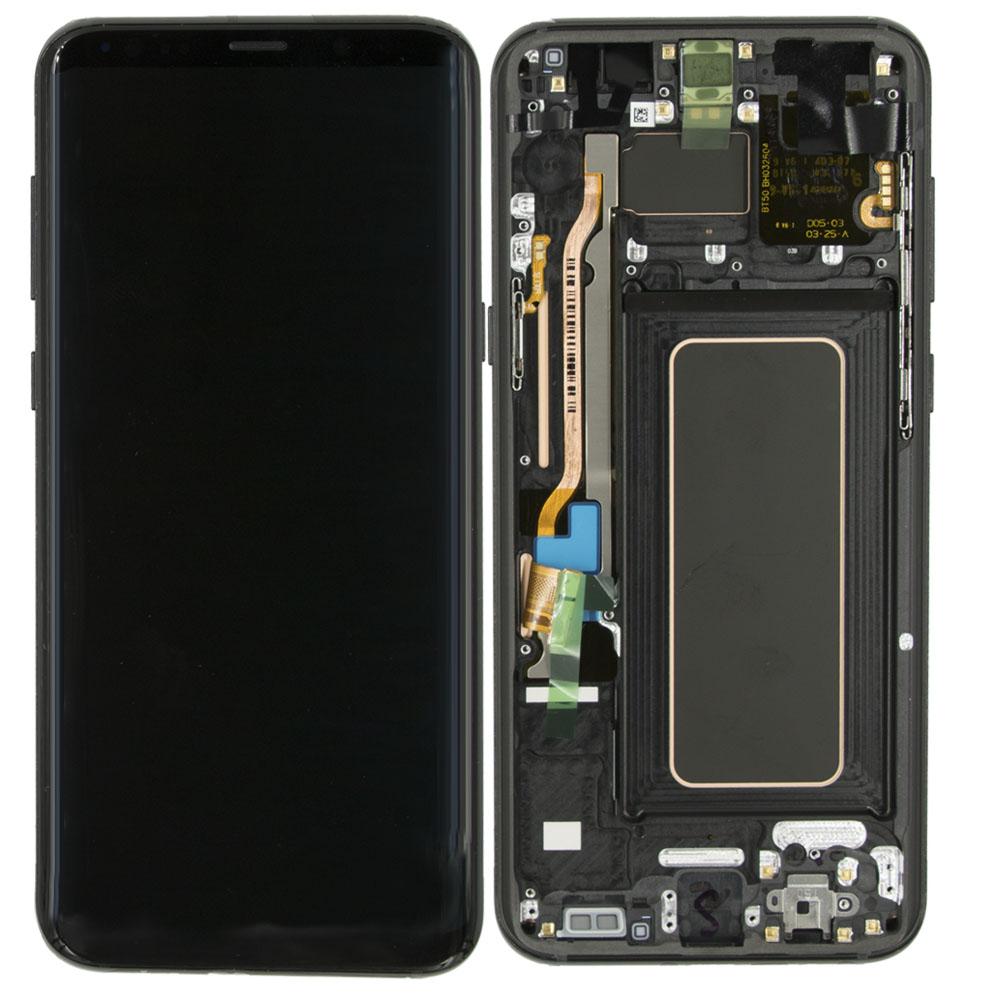 Samsung G955 S8 Plus Lcd Ekran Servis Gold Altın