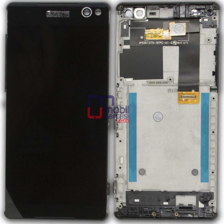 Sony Xperia C5 Ultra Lcd Ekran Çıtalı Siyah