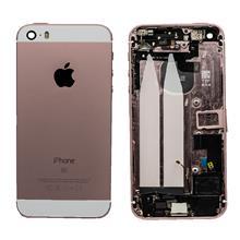 Apple İphone Se Kasa Dolu Rose Gold Pembe