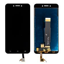 Asus Zenfone Go Zb551kl Lcd Ekran Çıtasız Siyah