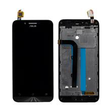 Asus Zenfone Zc500tg 5.0 Go Lcd Ekran Çıtalı Siyah