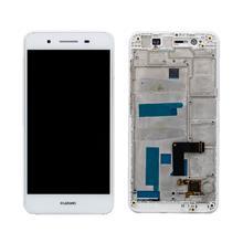 Huawei Gr3 Lcd Ekran Çıtalı Beyaz