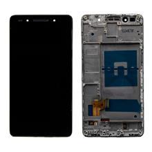 Huawei Honor 7 Lcd Ekran Çıtalı Siyah