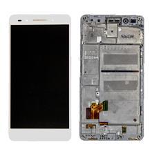 Huawei Honor 7 Lcd Ekran Çıtalı Beyaz