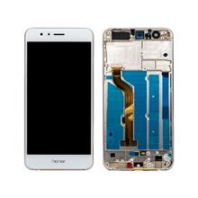 Huawei Honor 8 Lcd Ekran Çıtalı Beyaz