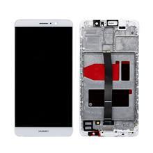 Huawei Mate 9 Lcd Ekran Çıtalı Beyaz