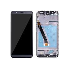Huawei P Smart Lcd Ekran Çıtalı Siyah