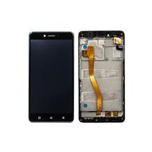 Lenovo K6 Note Lcd Ekran Çıtalı Siyah