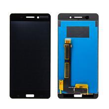 Nokia 6 Lcd Ekran Çıtasız Siyah