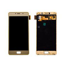 Lenovo P2 Lcd Ekran Çıtalı Gold Altın