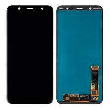 Samsung J810 J8 Lcd Ekran Servis Siyah