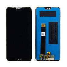 Nokia 6.1 Plus Lcd Ekran Çıtasız Siyah