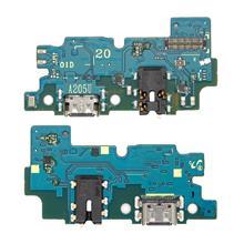 Samsung A205 A20 Şarj Ve Mikrofon Bordu