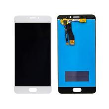 Meizu M5 Note Lcd Ekran Çıtasız Beyaz