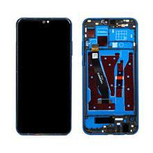 Huawei Honor 8X Lcd Ekran Çıtalı Mavi