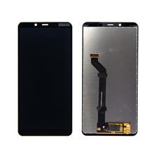 Nokia 3.1 Plus Lcd Ekran Çıtasız Siyah