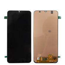 Samsung A505 A50 Lcd Ekran Çıtasız Revizyon Orijinal Siyah