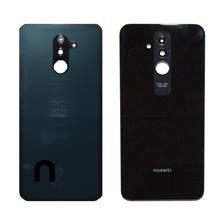 Huawei Mate 20 Lite Arka Kapak Kamera Camlı Siyah