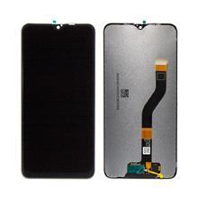 Samsung A107 A10s Lcd Ekran Çıtasız Revizyon Orijinal Siyah