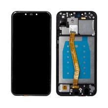 Huawei Nova 3I Lcd Ekran Çıtalı Siyah