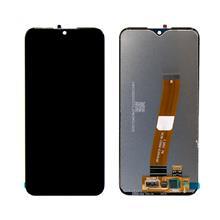 Samsung A015 A01 Lcd Ekran Çıtasız Revizyon Orijinal Siyah (Büyük Film)