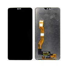 Oppo F7 Lcd Ekran Çıtasız Siyah