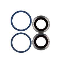 Apple İphone 12 Kamera Camı Mavi (Çerçeveli)