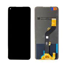 Infinix Note 7 Lcd Ekran Çıtasız Siyah