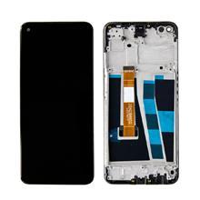 Oppo A52 Lcd Ekran Çıtalı Siyah
