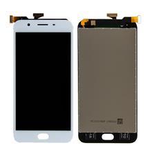 Oppo F1s Lcd Ekran Çıtasız Beyaz