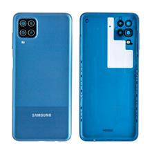 Samsung A125 A12 Arka Kapak Mavi