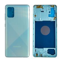 Samsung A715 A71 Kasa Mavi