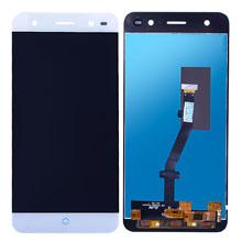 Zte Blade V7 Lite Lcd Ekran Çıtasız Beyaz
