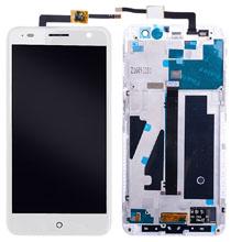 Zte Blade V7 Lcd Ekran Çıtasız Beyaz