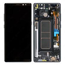 Samsung N950 Note 8 Lcd Ekran Servis Siyah