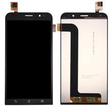 Asus Zenfone Go Zb552kl Lcd Ekran Çıtasız Siyah