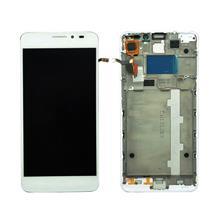 Alcatel 6040 Lcd Ekran Çıtalı Beyaz